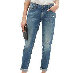 Banana Republic Girlfriend Indigo Wash Denim Jeans